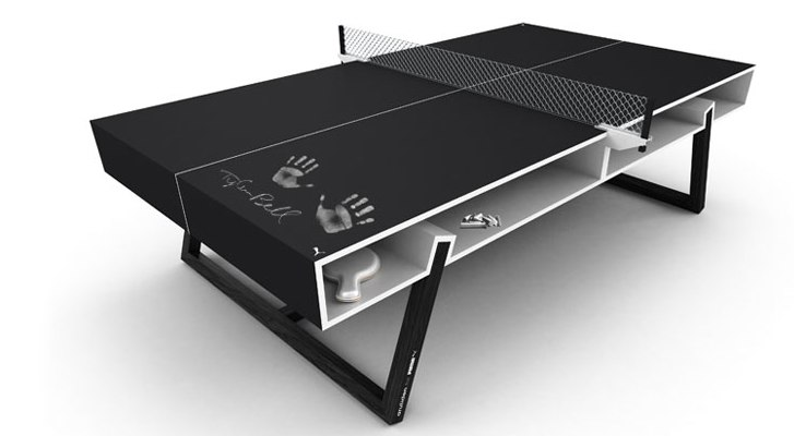 Aruliden PUMA Chalk Ping Pong Table
